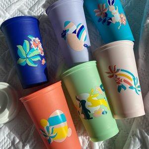 BNIB Starbucks reuseable hot cups